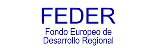 logo feder fondo europeo desarrollo regional